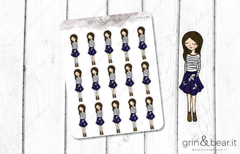 Skirt Season - Everyday Girl Stickers (EG012)