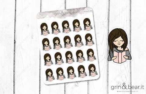 Reading - Everyday Girl Stickers (EG013)