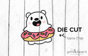 Donut Barry - Barry the Bear Diecut