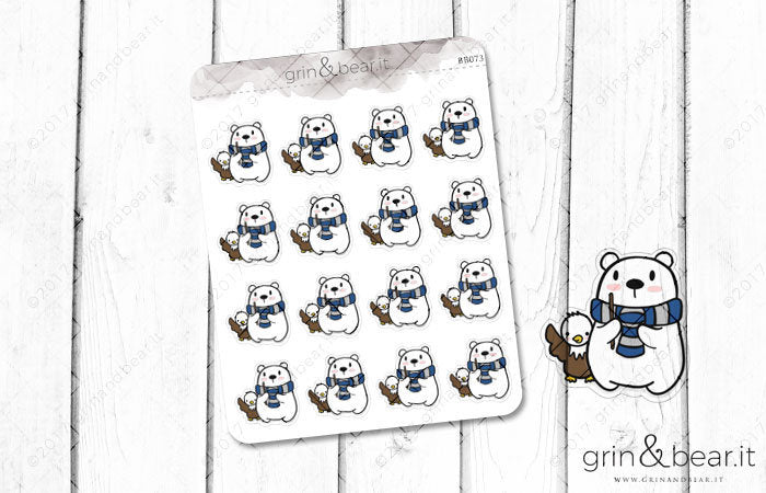 Ravenclaw Barry! - Barry the Bear Stickers (BB073)
