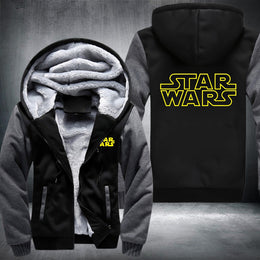 Star Wars Unisex Zipper Hoodie Fleece
