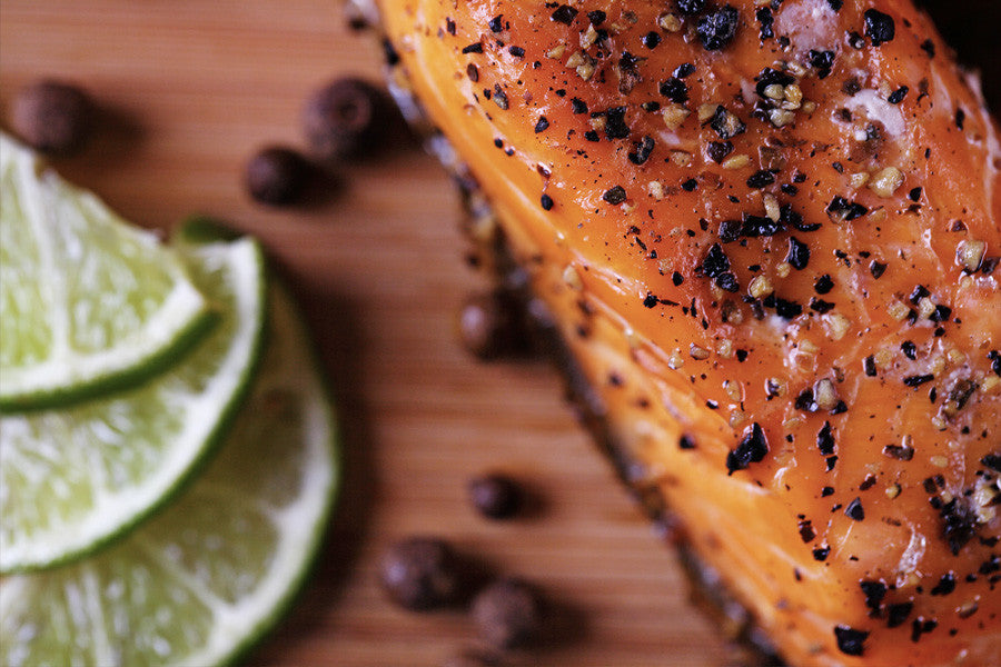 Brown Sugar & Pistachio Glazed Salmon