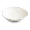 HANDMADE PORCELAIN WHITE SALAD SERVING BOWL