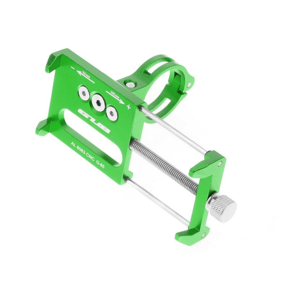 Bike holder g85 green for mobile phone metal