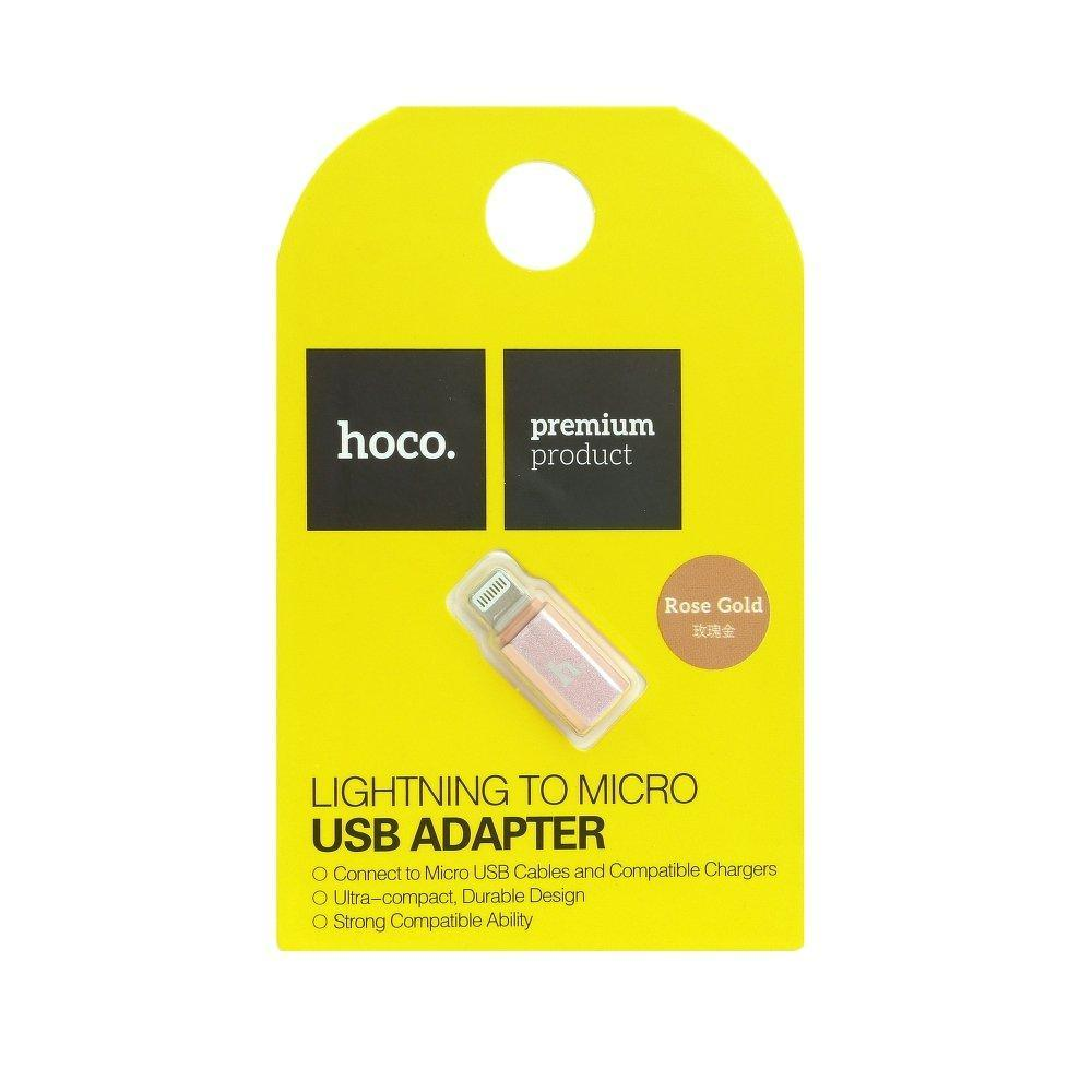 Hoco micro usb to lightning connector - cable, prtnr