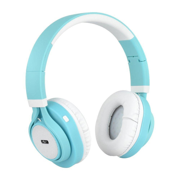 Слушалки блутут/bluetooth stereo с микрофон ap-b04 бял/turquoise - BlueTooth, headphones, prtnr