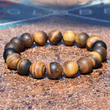 Stone Cold Tiger Eye Bracelet