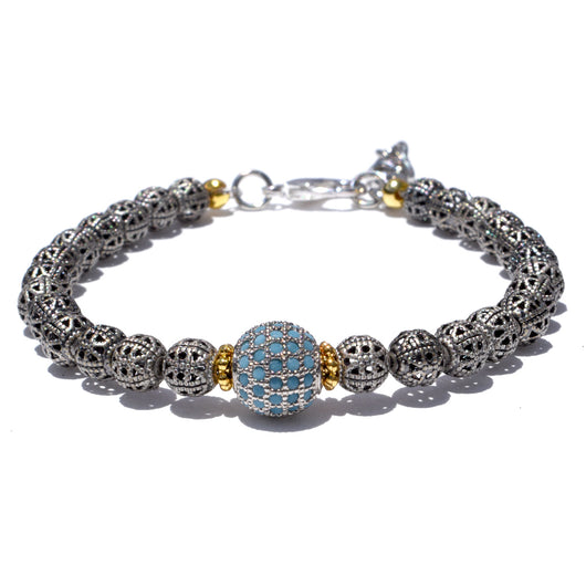 Blue Moon Bracelet Adjustable