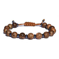 Adjustable Sandalwood Tiger Bracelet