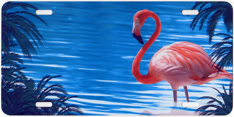 Flamingo Auto Tag