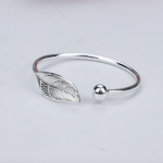 Trendy and Fashionable Leaf Bangle - BELLADONNA