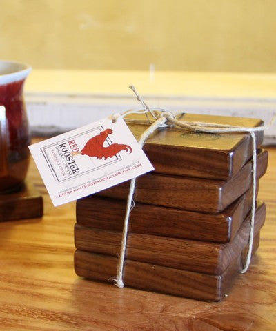 Red Rooster Coasters