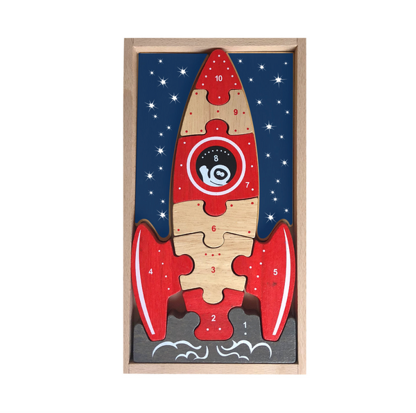 Blast off Wood Puzzle - Juniper Millbrook