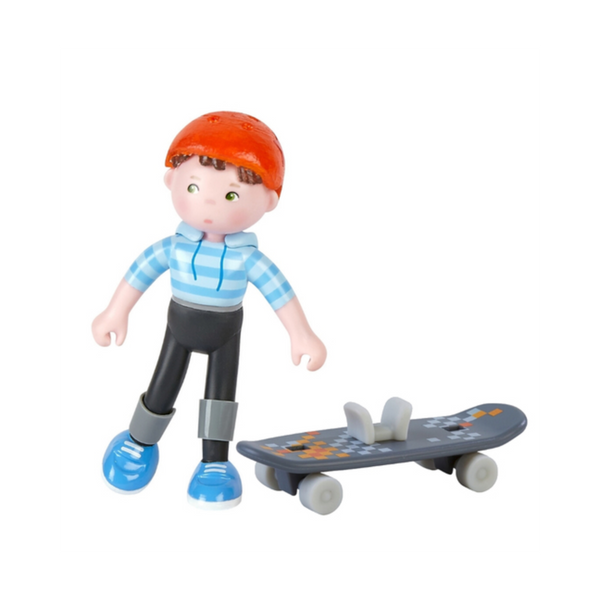 Little Friends Marc the skateboarder - Juniper Millbrook