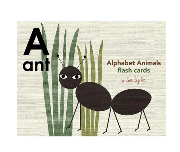 Alphabet animal flash cards - Juniper Millbrook