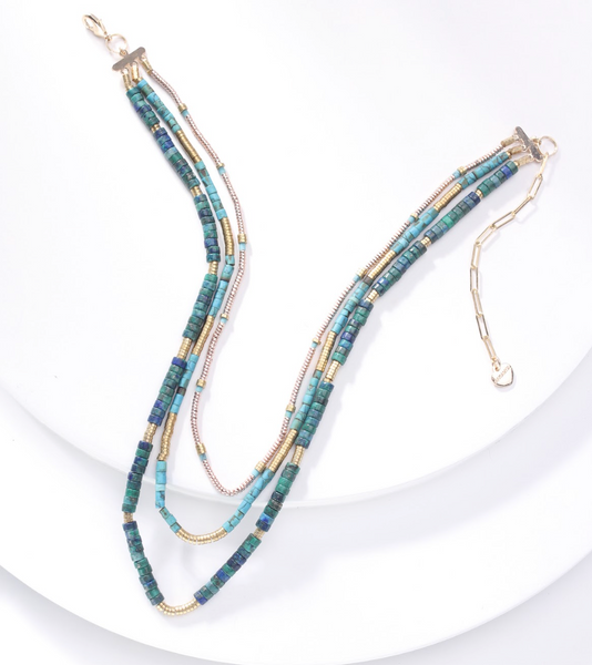 Turquoise necklace - Juniper Millbrook