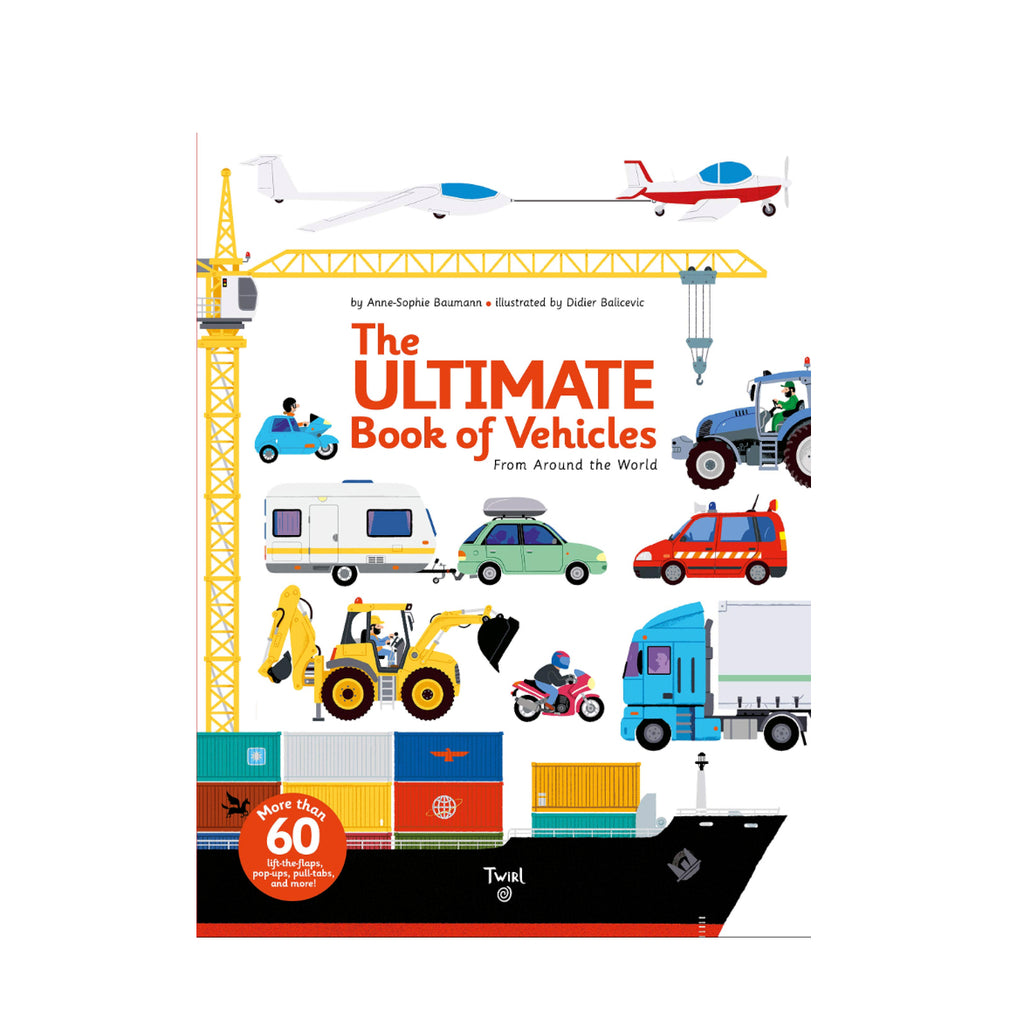 The Ultimate Book of Vehicles - Juniper Millbrook