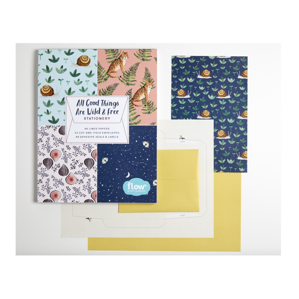 All Good Things are Wild & Free Stationary Set - Juniper Millbrook