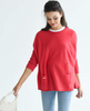Catalina Travel Sweater- Poppy - Juniper Millbrook