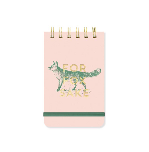 For Fox Sake Notepad - Juniper Millbrook