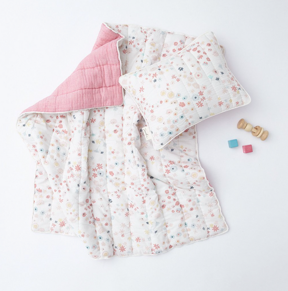 Meadow Baby Quilt - Juniper Millbrook