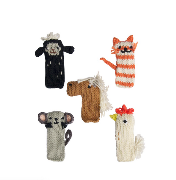 Barnyard Animal Finger Puppets - Juniper Millbrook