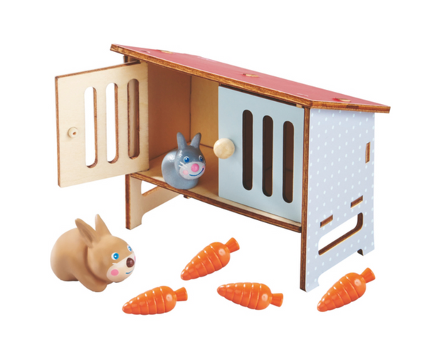 Rabbit Hutch and Bunnies - Juniper Millbrook