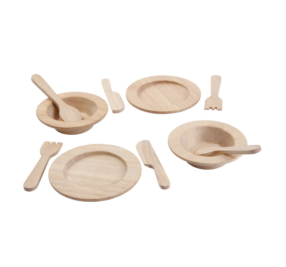 Wooden Tableware Set - Juniper Millbrook