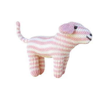 Hand knit Dog Rattle - Juniper Millbrook