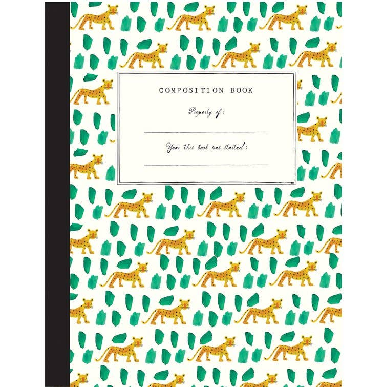 Leopard Composition Notebook