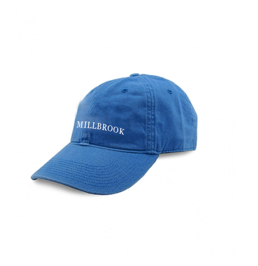 Blue MILLBROOK Needlepoint Hat - Juniper Millbrook