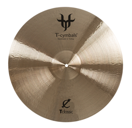 "T-Cymbals Classic 16"" Light Crash"