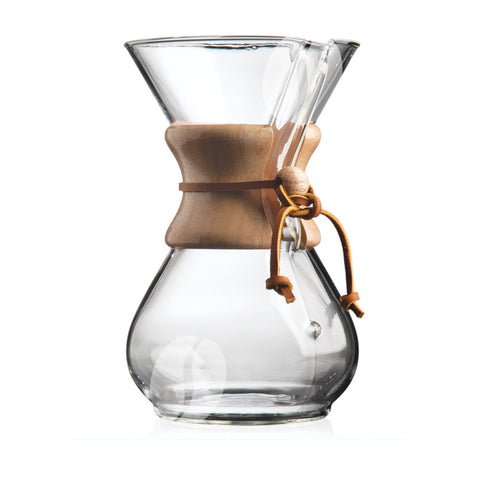 Chemex 6-cup Coffee Brewer (wooden handle)