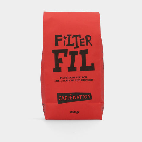 Empty 250 grams bags FILTER FIL - RED (PER 25)