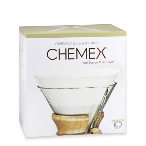 Chemex Bonded Filters for 6 or 8-cup Brewers - Circle or Square version