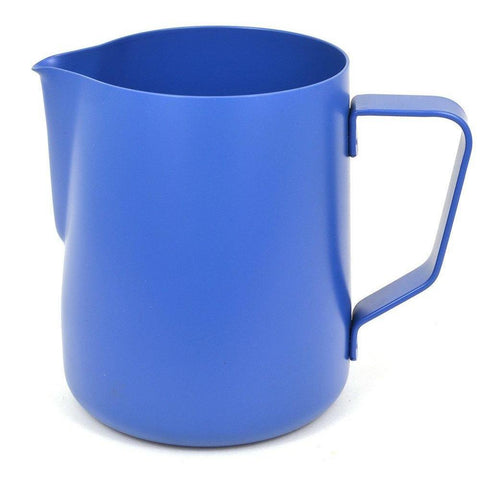 Rhinowares Professional Stealth Milk Pitcher - BLUE (in 2 Sizes)