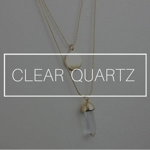 Clear Quartz Jewelry