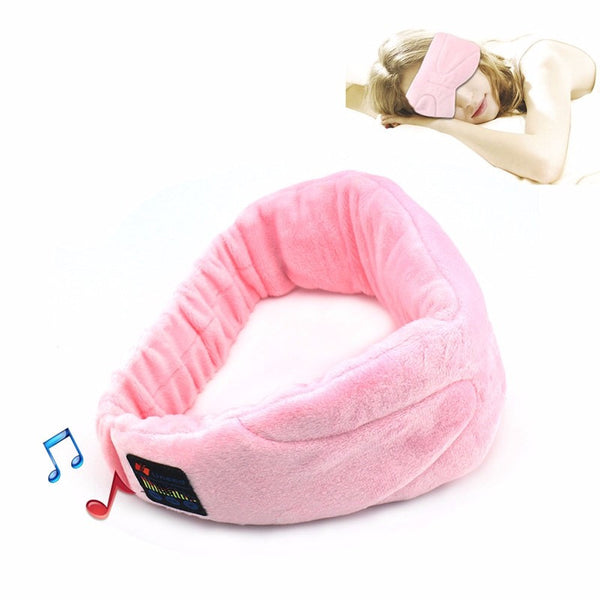 Wireless Super Soft Sleep Headphones and Eye Mask *Great for travel, meditation and visualizations or sleep learning*