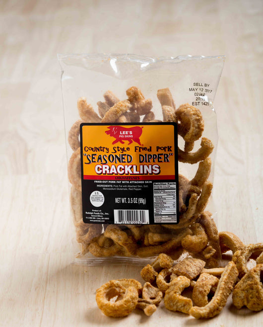 Order Your Favorite Pork Rinds Online Today. Lee's Seasoned Pork Dipper Cracklins Are Available In Twelve, Eighteen, And Thirty Six Packs. Fastest Pork Rind Shipping Online. Free Shipping On Orders Over $75.