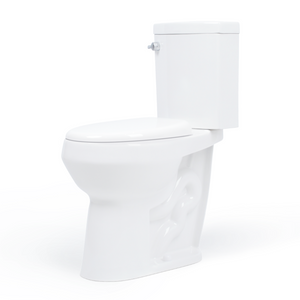 "Model S: 20 inch Height Toilet Bowl. High Rise 21"" Extra Tall Seat"