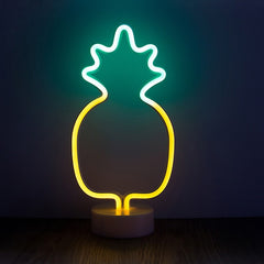 Pineapple LED Neon Desk Light - By Plant Collective | Indoor House Plants, Succulents, Air Plants & Terrariums - Toronto Canada