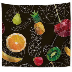 Wall Tapestry - Tropical Fruit - By Plant Collective | Indoor House Plants, Succulents, Air Plants & Terrariums - Toronto Canada