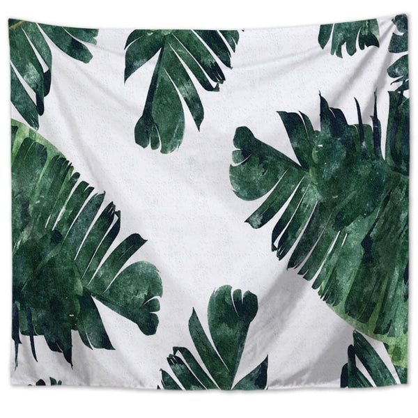 Wall Tapestry - Banana Leaf Design 1 - By Plant Collective | Indoor House Plants, Succulents, Air Plants & Terrariums - Toronto Canada