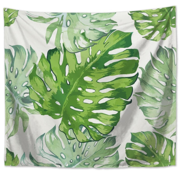 Wall Tapestry - Monstera Design 8 - By Plant Collective | Indoor House Plants, Succulents, Air Plants & Terrariums - Toronto Canada