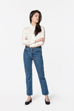 WOMEN'S JEANS IN VINTAGE WASH