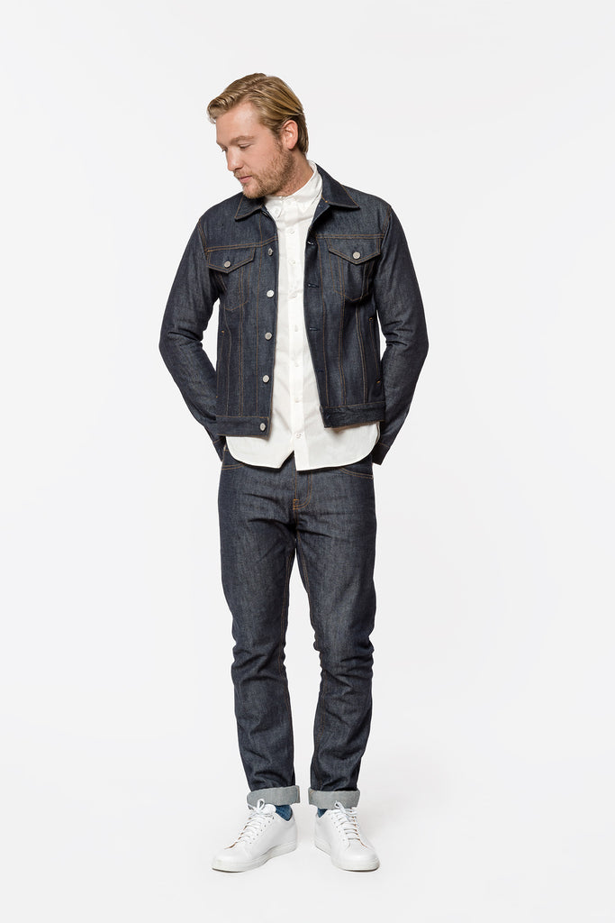 RAW SELVEDGE DENIM JACKET