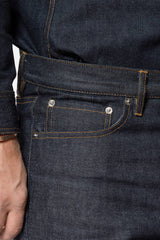 MEN'S RAW SELVEDGE JEANS