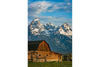 Mormon Barn-Vertical