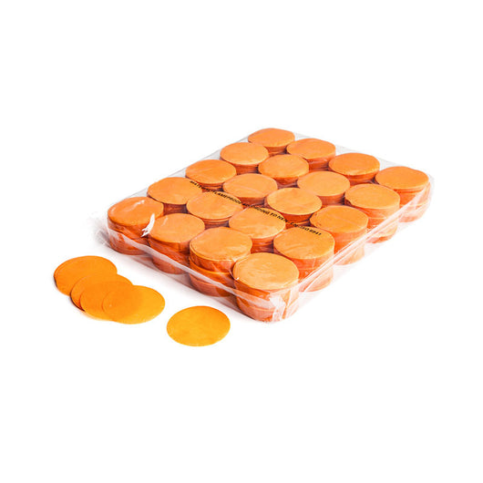 Slowfall confetti rounds 55mm - Orange