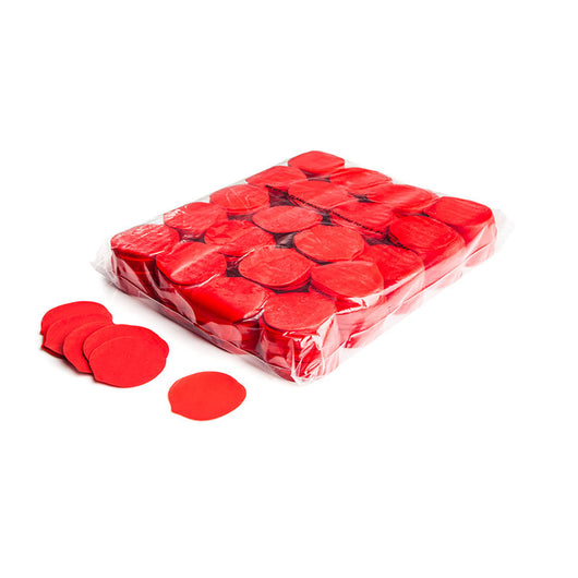 Slowfall confetti rose petals 55mm - Red